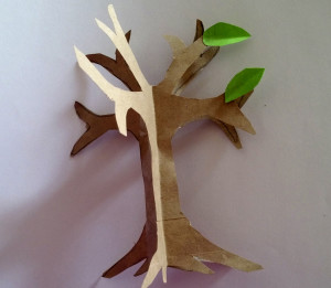 Step 6: paper craft tree tutorial