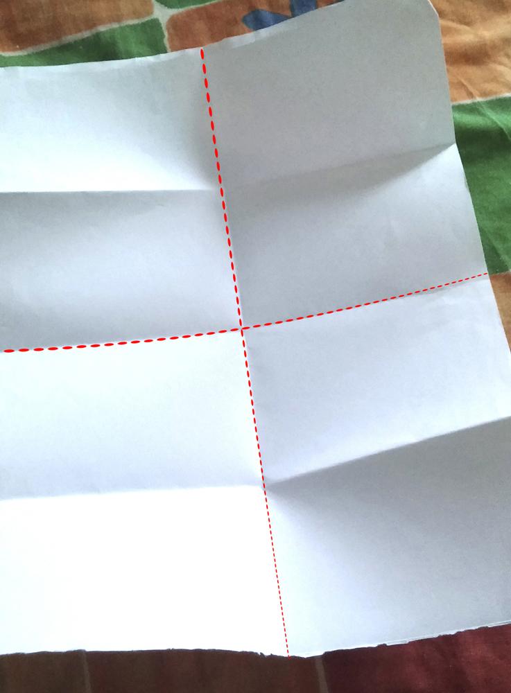 Monster Flip Book - Step 1