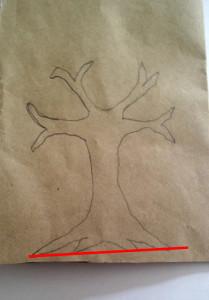 Step 1: paper craft tree tutorial