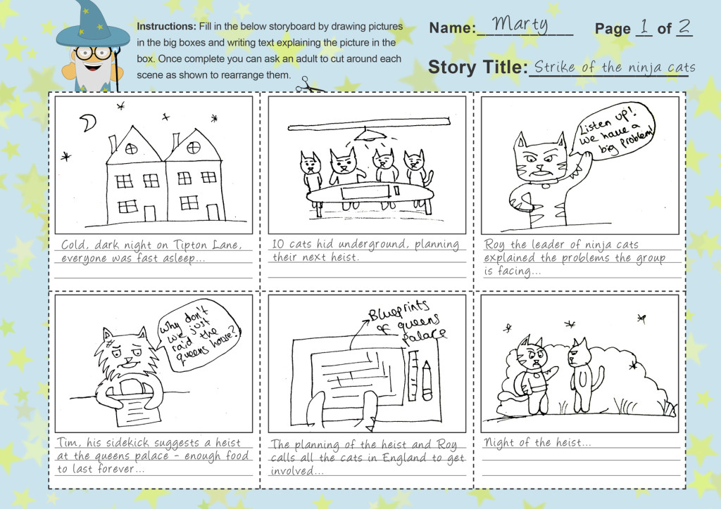 Storyboard Template Completed
