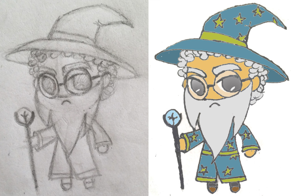 Marty the Wizard of Imagine Forest