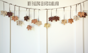 Glitter Leaves Wall Decorations