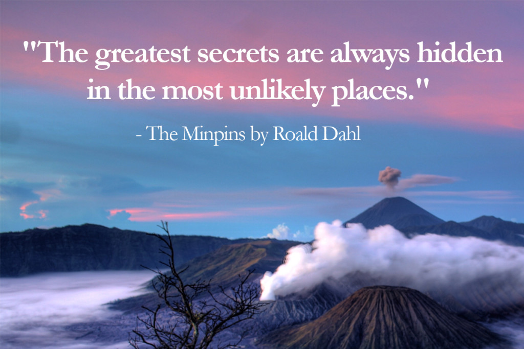 The minpins - top 10 Roald Dahl Quotes - Imagine Forest