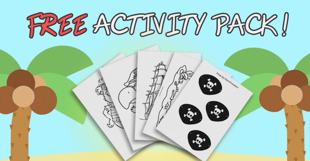 Talk like a Pirate day - FREE Activity Pack!