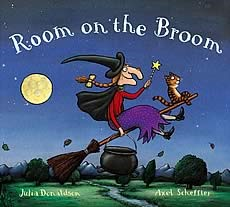 Room on the Broom - Halloween books for kids
