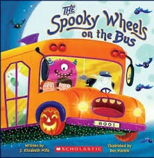 The Spooky Wheels on the Bus - Halloween books for kids