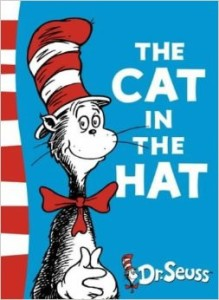 The cat in the hat - Book (Animals from children's books)