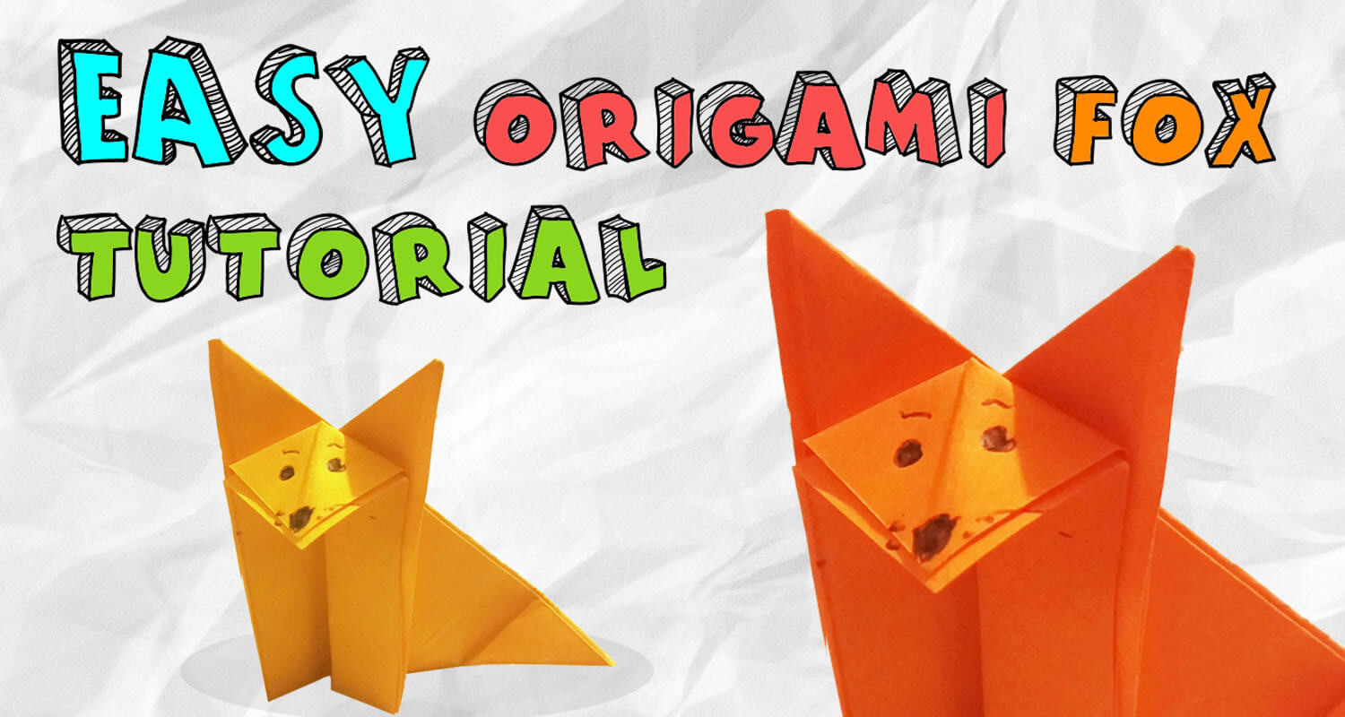 Origami Fox (face) | Easy origami for kids, Origami instructions ... | 800x1500
