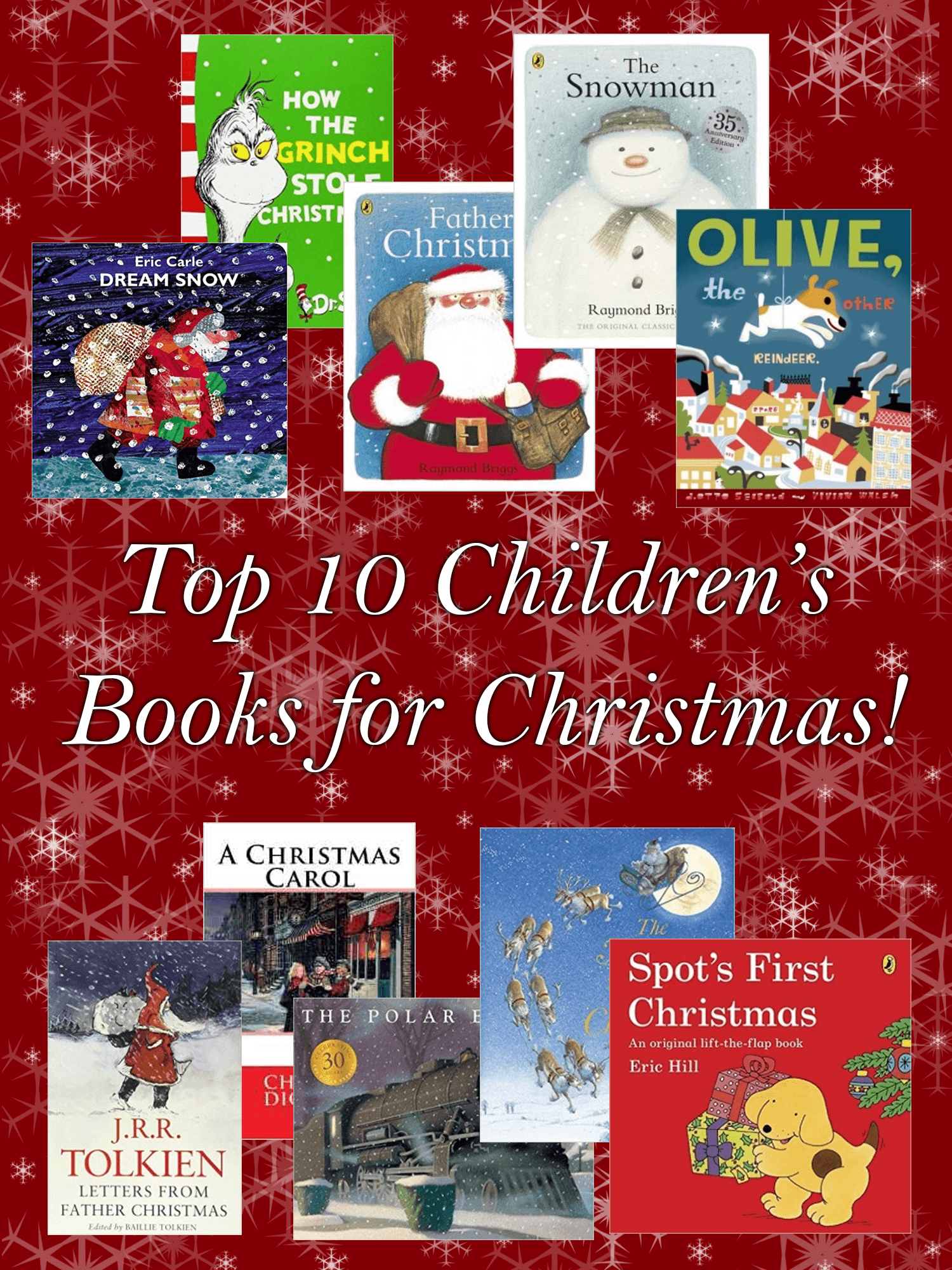 Top 10 Children's Books for Christmas_imagine forest