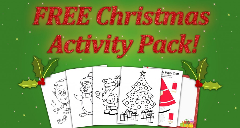 FREE Christmas Activity Pack - Imagine Forest