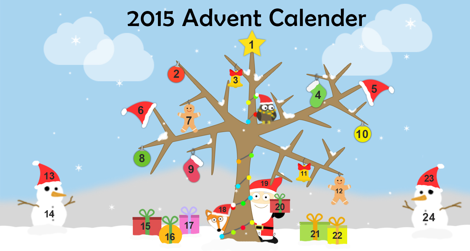 Imagine Forest advent Calendar - Book Recommendations