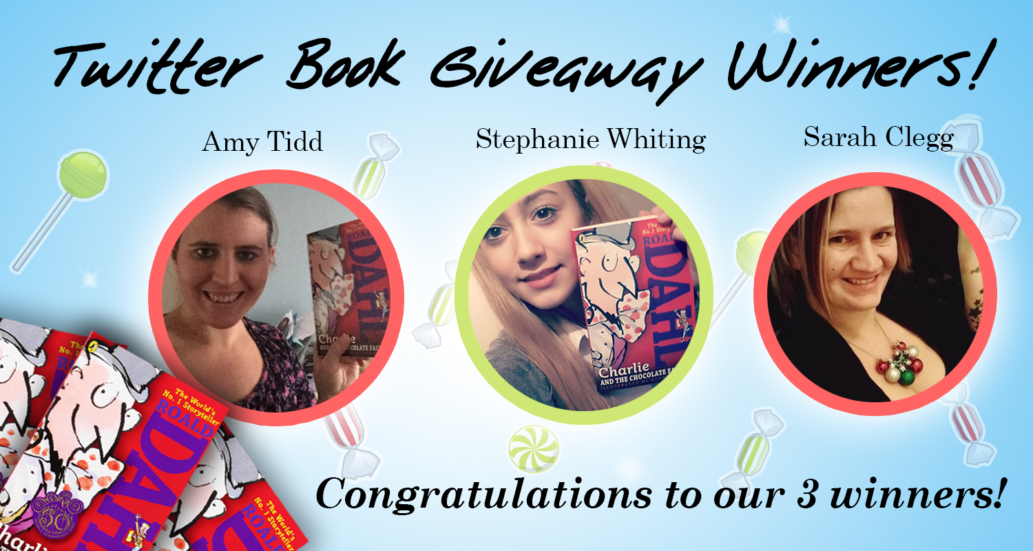 Twitter Book Giveaway Winners Announced!