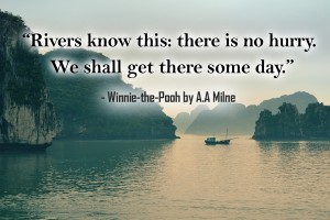 Winnie the Pooh rivers quote