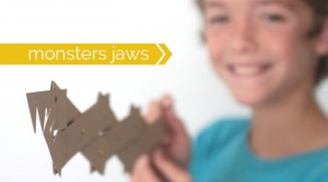 Cereal Box monster Jaws for kids