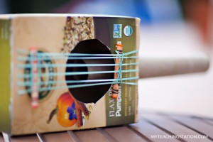 cereal box guitar for kids