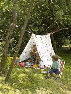 summer writing activities- Kids story nooks-imagine-forest