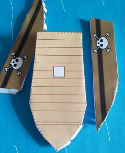 Paper Craft Pirate Story Pack - step 3-Imagine Forest
