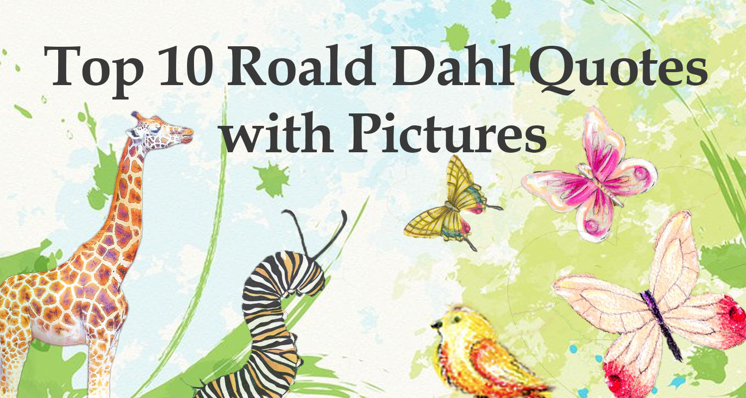 Top 10 Roald Dahl Quotes - Imagine Forest
