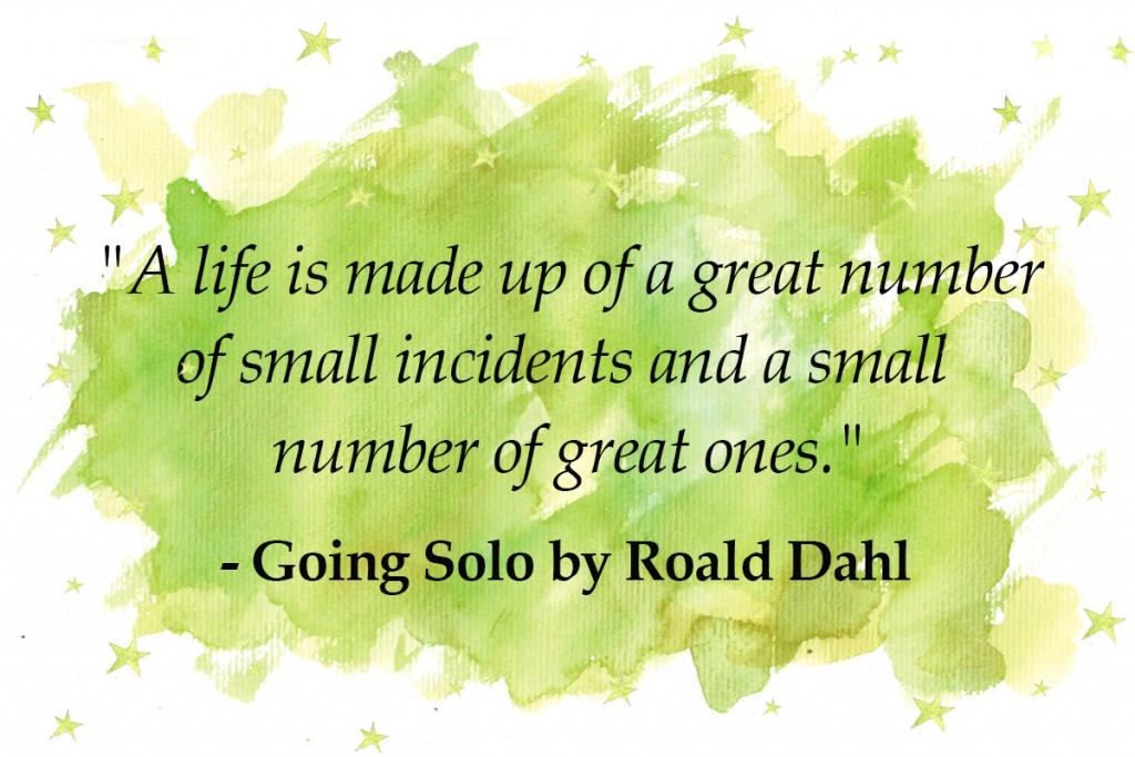 going solo - top 10 roald dahl quotes Imagine Forest