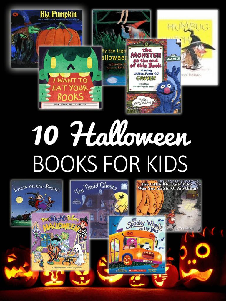 Halloween books for kids - imagine forest