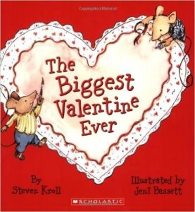 Valentine's Day picture books for kids_The Biggest Valentine Ever