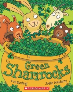 Green Shamrocks_ St. Patrick's Day books for kids _Imagine Forest