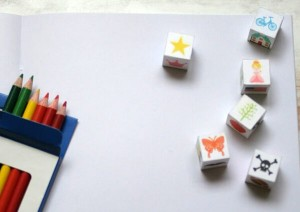 Storytelling Activities for Kids on storytelling day_DIY story cubes for kids_imagine forest