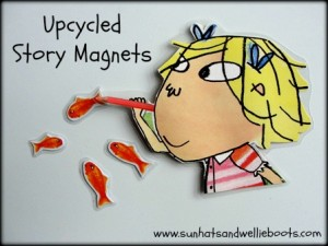 Story-telling Activities for Kids on story-telling day_diy story magnets_imagine forest