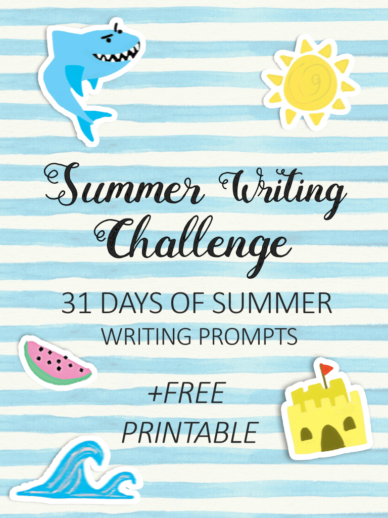 Summer Writing Challenge _ 31 days of Summer Writing Prompts _ imagine forest