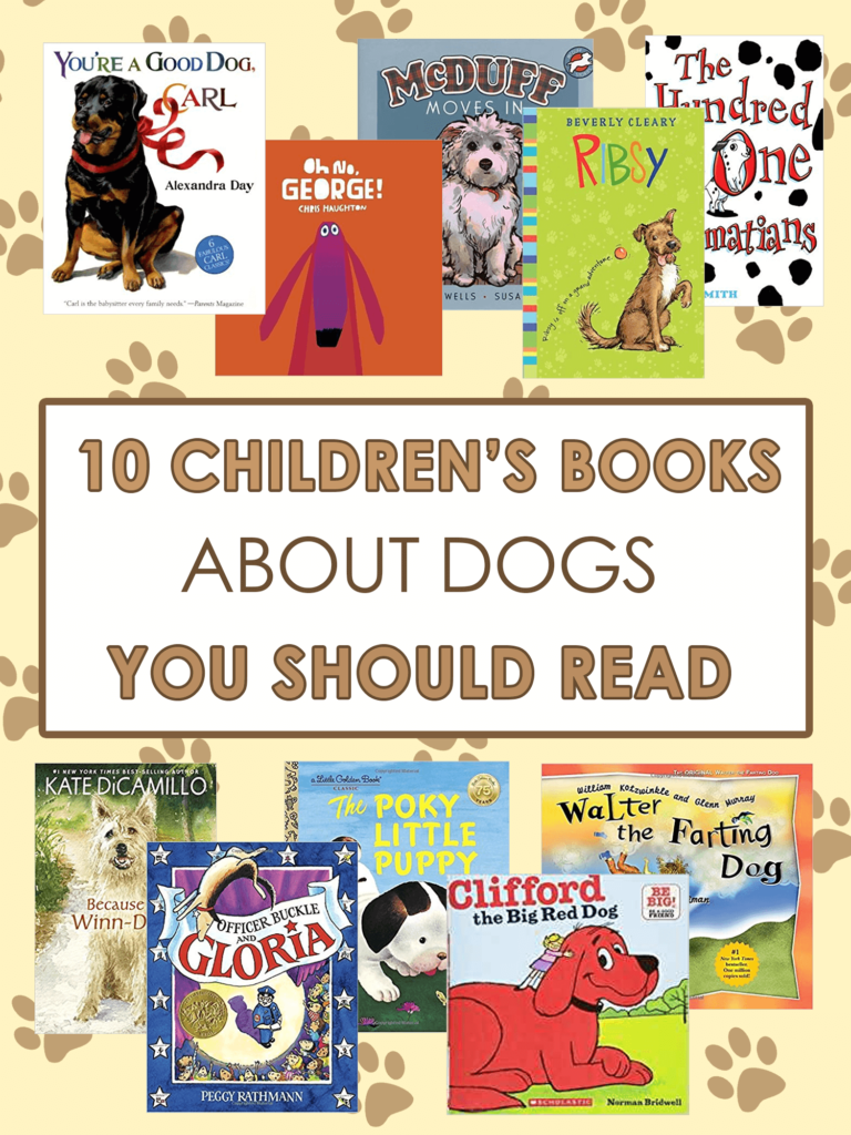 10 Childrens Books about Dogs You Should Read _ imagine forest