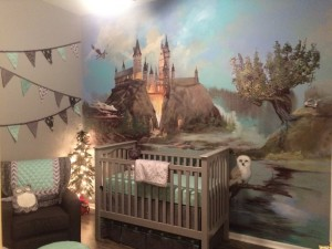 Children's Book Inspired Nursery _ Harry Potter