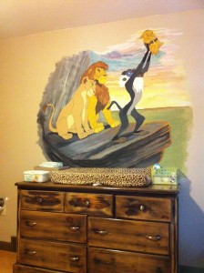 Children's Book Inspired Nursery _ Lion King