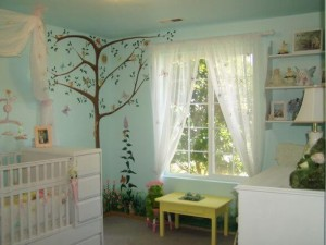 Children's Book Inspired Nursery _ The secret garden