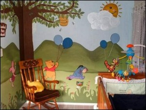 Children's Book Inspired Nursery _ Winnie the Pooh