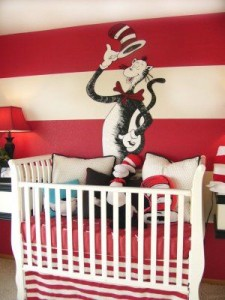 Children's Book Inspired Nursery ideas _ All thing Dr. Seuss