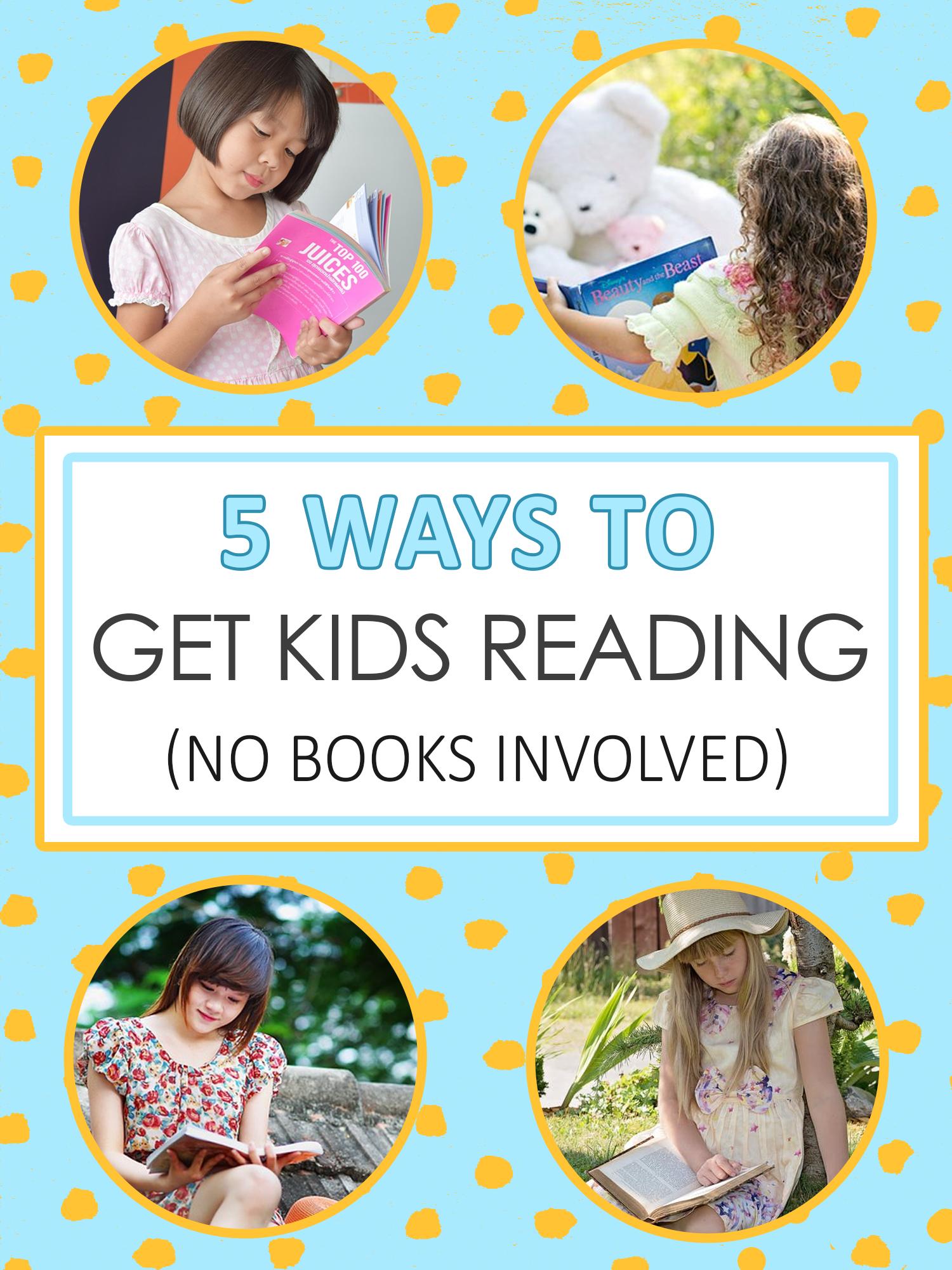 让孩子阅读的5种方法,无书参与_想象森林新利18app官网下载