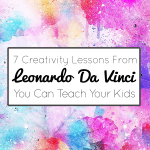 7 Creativity Lessons From Leonardo Da Vinci You Can Teach Your Kids imagine forest
