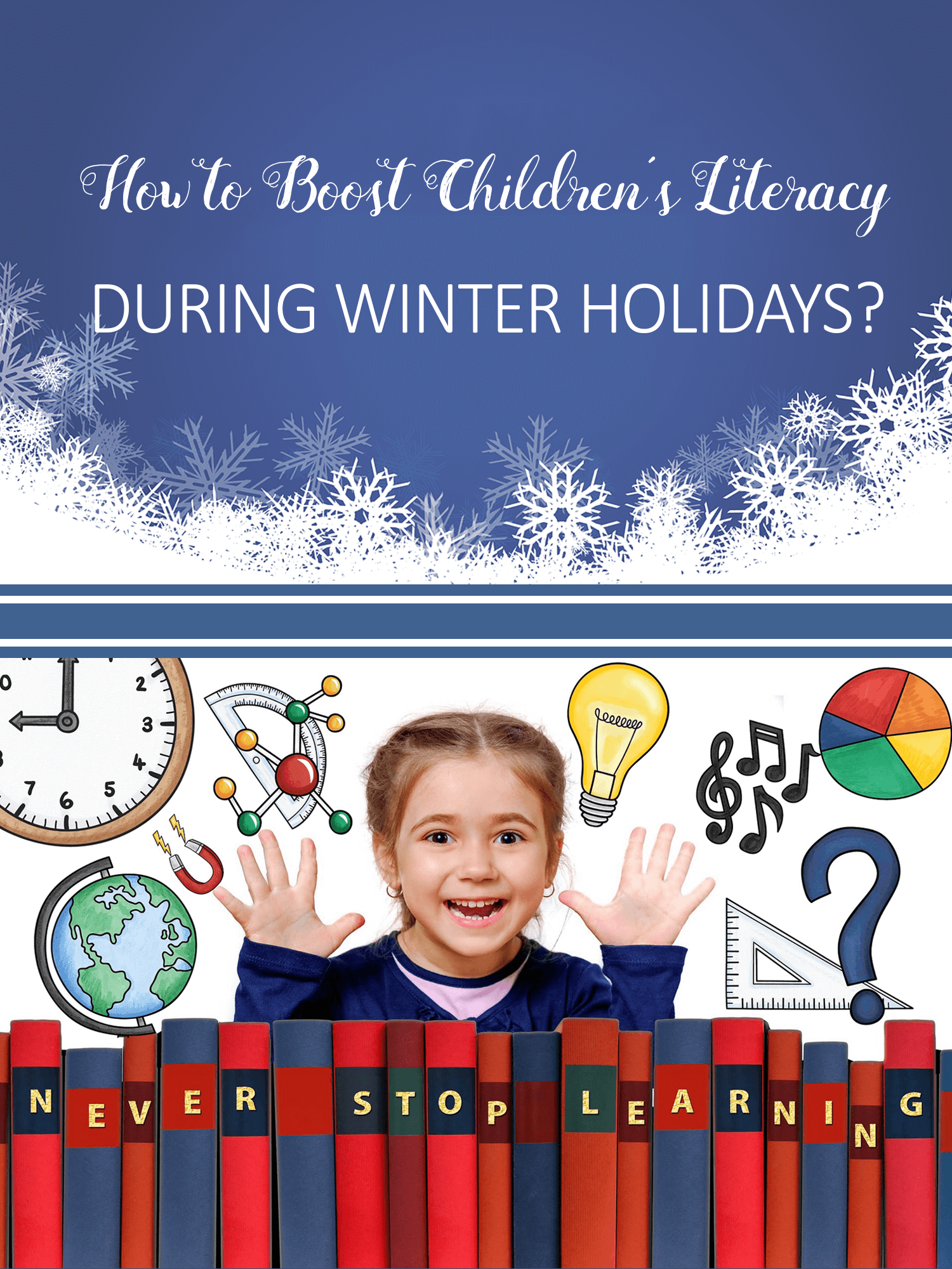 How to Boost Children's Literacy during Winter Holidays imagine forest