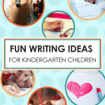 Fun Writing Ideas for Kindergartenen Writing Games imagine forest