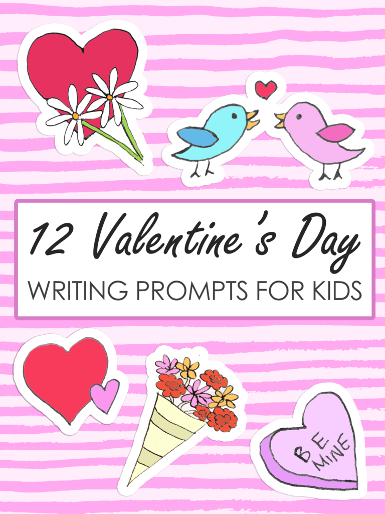 Valentines Day writing prompts for kids imagine forest