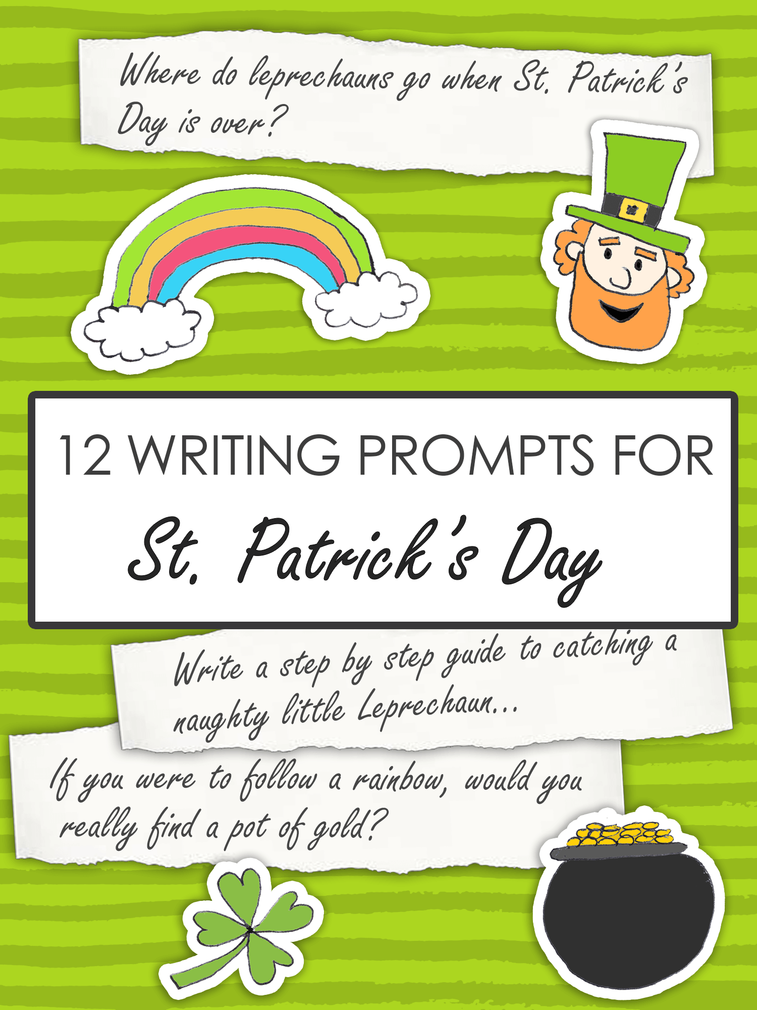 12 St. Patrick's Day Writing Prompts for Kids
