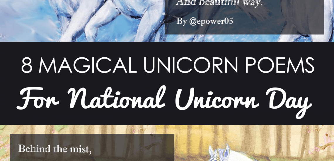 8 Magical Unicorn Poems for National Unicorn Day imagine forest