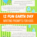 earth day writing prompts for kids by imagine forest
