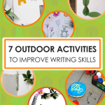 7 outdoor writing activities for kids by Imagine Forest