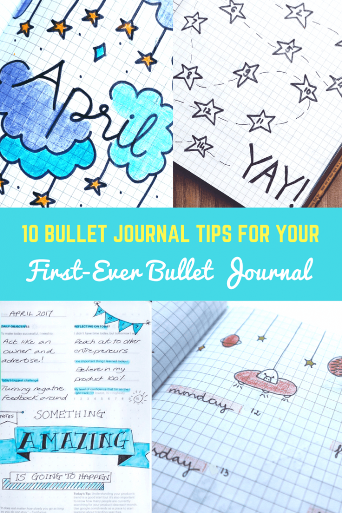10 Bullet Journal Tips for your first-ever bullet Journal-imagine forest