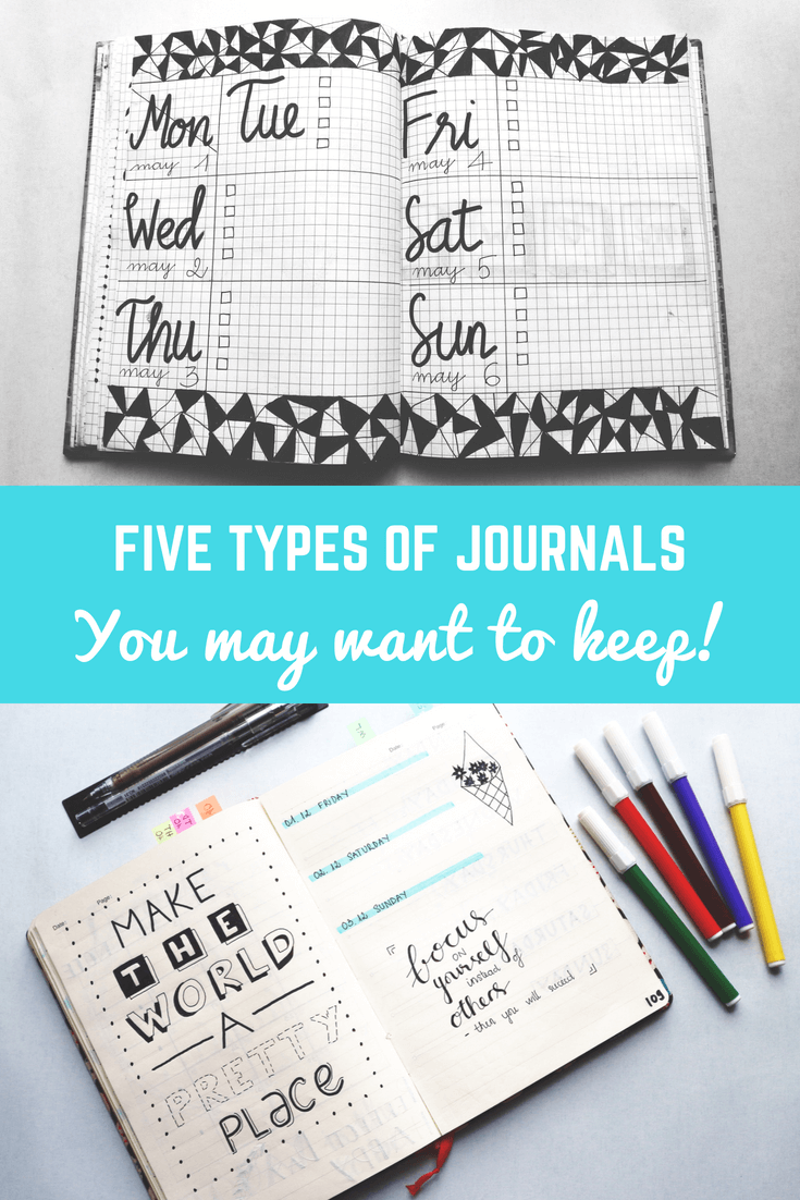 Five Types of Journals You May Want to Keep