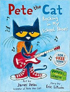 Hilarious Back to School Picture Books_Pete the Cat Rocking in My School Shoes
