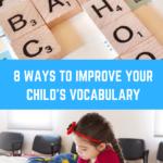 8 Ways to Improve your Child's Vocabulary