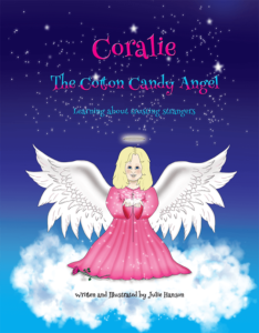 coralie the cotton candy angel book cover