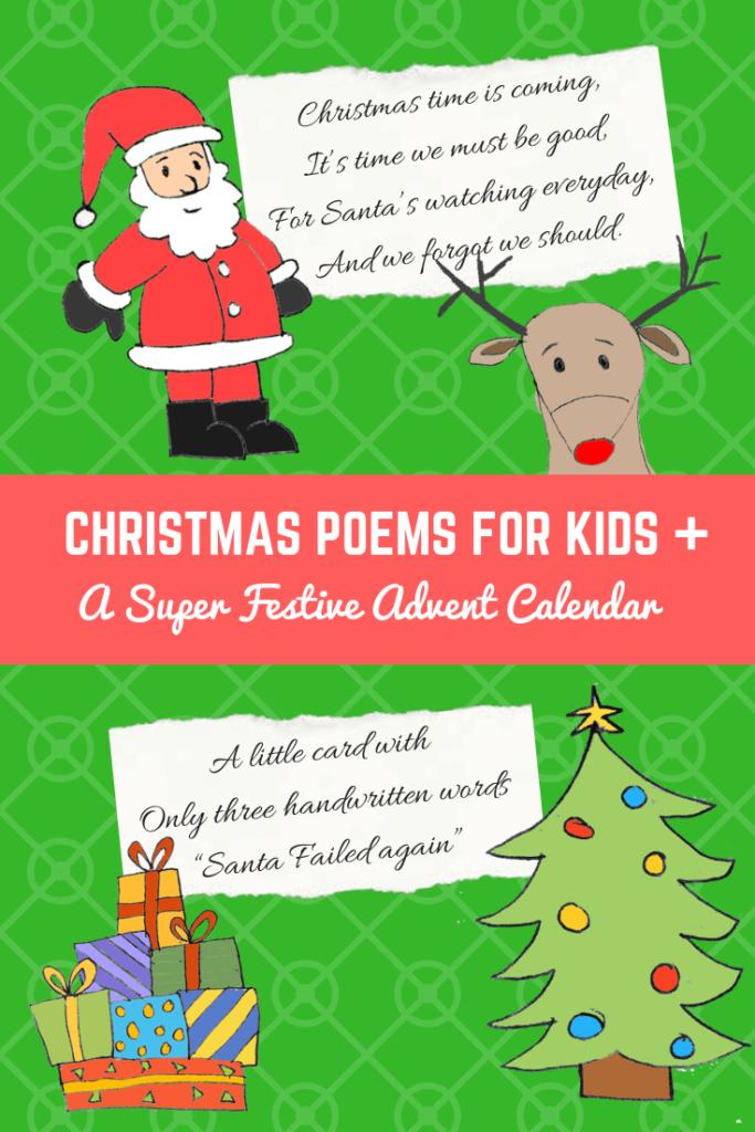 Christmas Poems for Kids And A Super Festive Advent Calendar